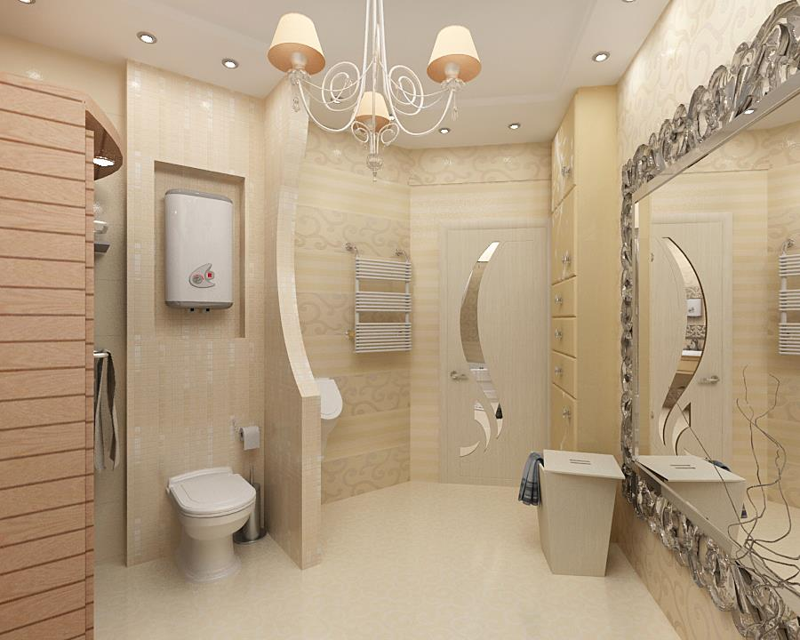 Туалет и ванная фото