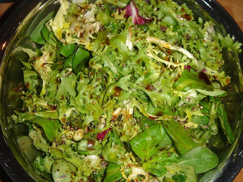 Салат из петрушки рецепт с
