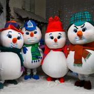 Новогоднее шоу «Снеговики»