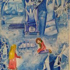 Дарья Дегтярева в конкурсе «Новогодние приключения»