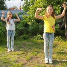 София и Таисия Александровны Кузнецовы в конкурсе «Танцуй по-своему!»