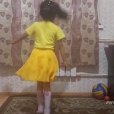 Каруна Алдын-ооловна Бабыкай в конкурсе «Танцуй по-своему!»