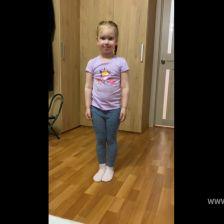 Полина Максимовна Доронина в конкурсе «Танцуй по-своему!»