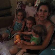Семья Горбуновых в конкурсе «Чемпионат. Семья на ура. Задание 2»