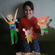 Елизавета Сергеевна Панфилова в конкурсе «Коллекция героев»