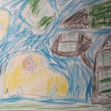 Матвей Фролов в конкурсе «Космос зовёт!»