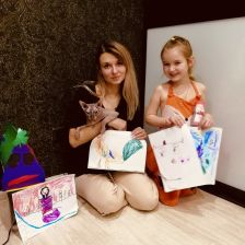 Злата Вадимовна Сучкова в конкурсе «Я, семья и МАМА ЛАМА!»