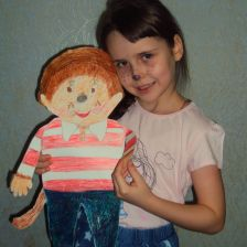 Елизавета Сергеевна Панфилова в конкурсе «Monchhichi – хранители снов»