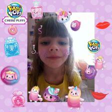 Алиса Мерзликина в конкурсе «Блестящий образ с Pikmi Pops»
