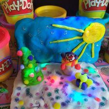 Маша Андреевна Алексеенко в конкурсе «Разбуди фантазию с Play-Doh!»