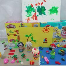 Эвелина Дмитриевна Захаренко в конкурсе «День рождения Play-Doh!»
