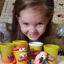 Яна Сергеевна Бондаренко в конкурсе «День рождения Play-Doh!»