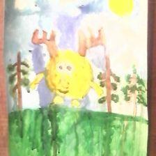 Петкявичус Гинтас в конкурсе «Я ♡ Смешариков»