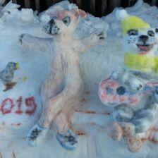 Обушонков Валерий Сергеевич Обушонкова в конкурсе «Слепи снеговика»