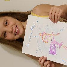 Маша Денисовна Мазурова в конкурсе «Супергерои АКВАФОР<sup class=