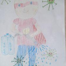 Екатерина Александровна Селина в конкурсе «Супергерои АКВАФОР<sup class=