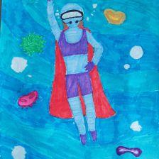 Лейсан Венеровна Альмухаметова в конкурсе «Супергерои АКВАФОР<sup class=