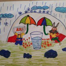 Ксения Сергеевна Ольшанецкая в конкурсе «Супергерои АКВАФОР<sup class=