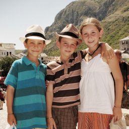 Трио путешественников