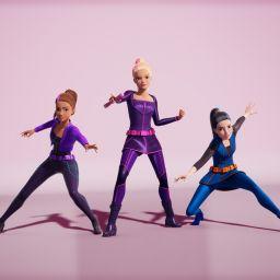 Барби и команда шпионов