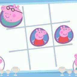 Свинка Пеппа. Крестики-нолики