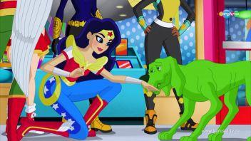 DC девчонки-супергерои. Друг, где мой невидимый ранец. 02.14