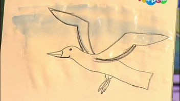 Давайте рисовать! Выпуск 173. Морская чайка