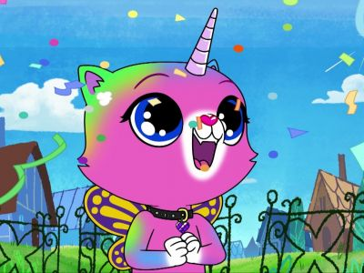Мультсериал «Радужно-бабочково-единорожная кошка»