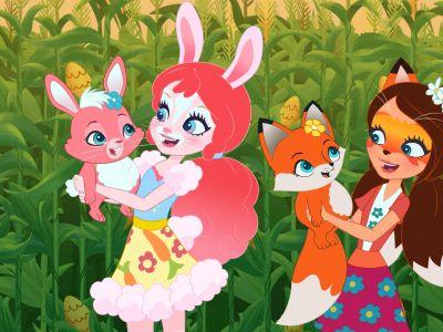 Мультфильм «Энчантималс. Весна на урожайных полях»