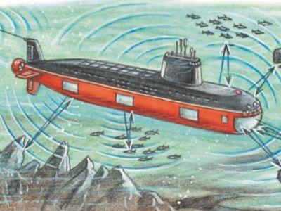 Как лодки «видят» и «слышат» под водой?