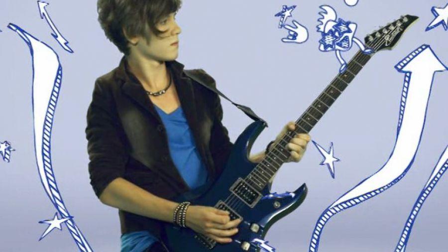 Межпрограммное оформление зима 2012. Гитарист