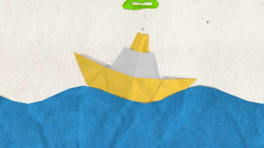 Межпрограммное оформление лето 2012. Кораблик