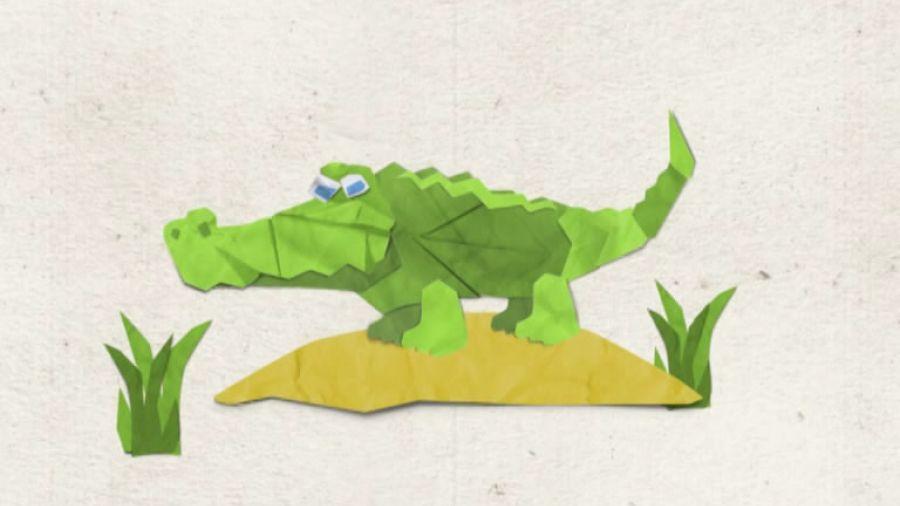 Межпрограммное оформление лето 2012. Крокодил
