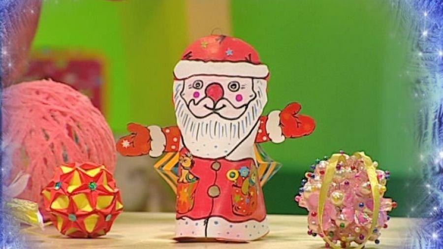 Спецвыпуск 8. Бериляка мастерит красивые новогодние игрушки