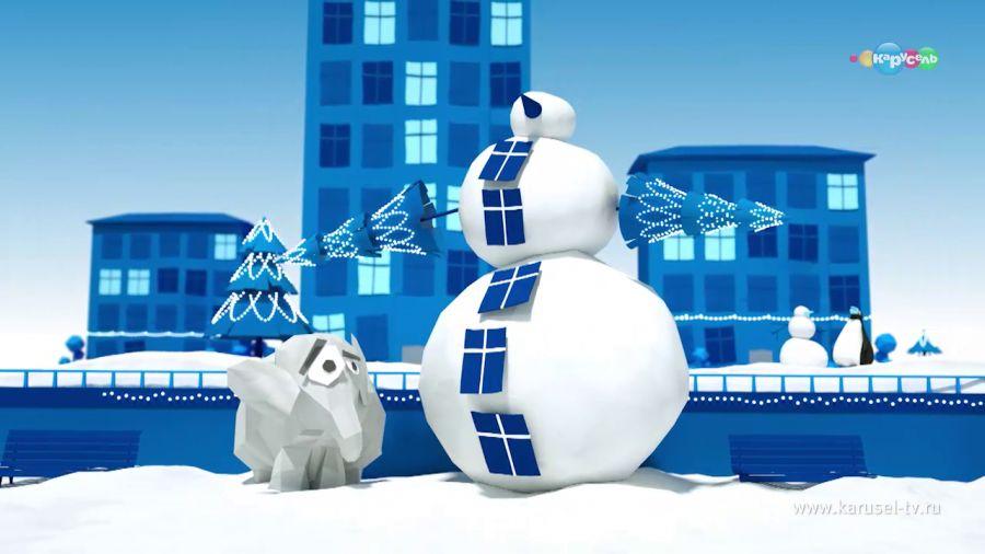 Межпрограммное оформление. Зима 2016.  Снеговики