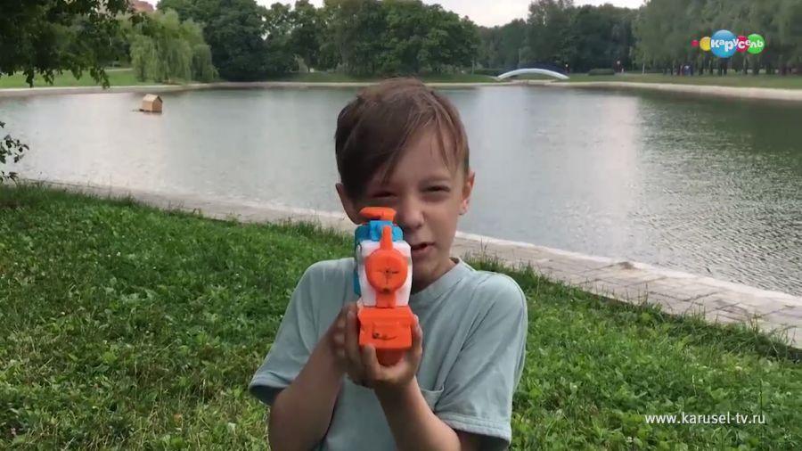 Рисуем лето пистолетом