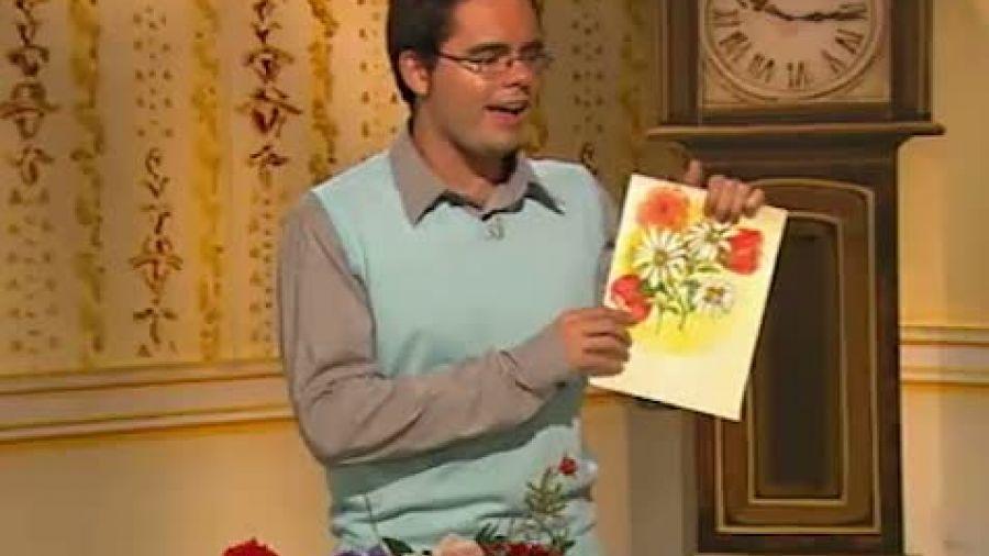 Выпуск 205  «Цветы Ван Гога». Красные маки