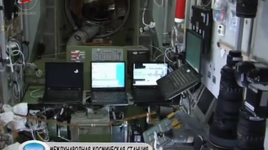 Экскурсия по МКС с Дмитрием Кондратьевым