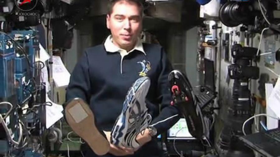 Носят ли космонавты обувь на орбите?