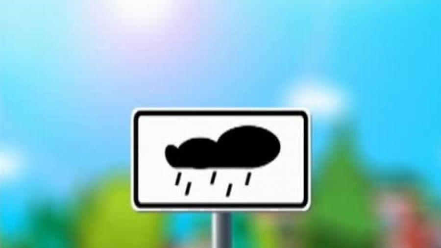 Знак «Влажное покрытие»