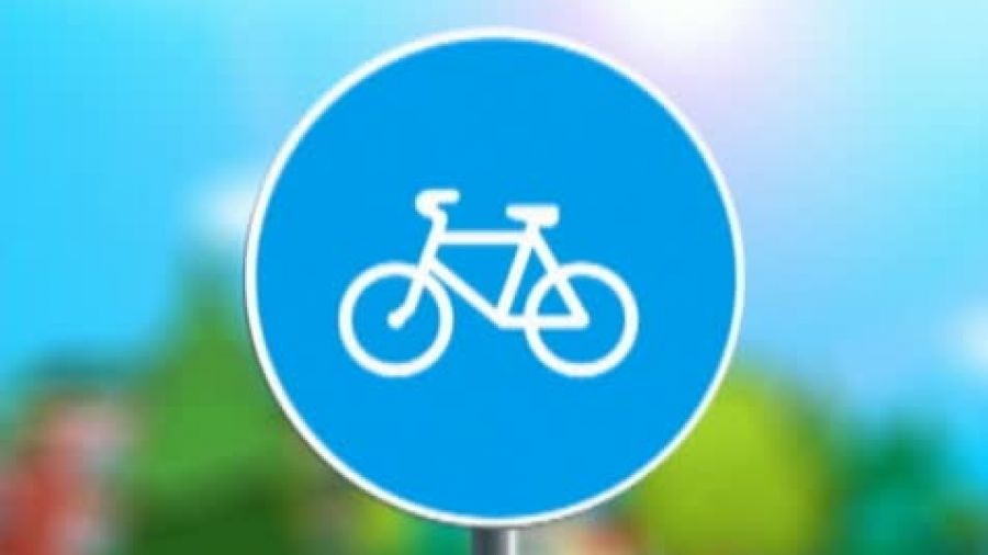 Знак «Велосипедная дорожка»