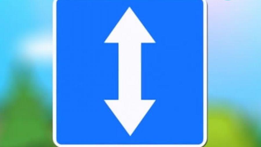 Знак «Реверсивное движение»