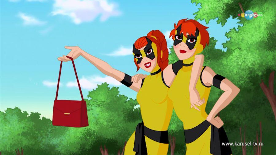 DC девчонки-супергерои. Двойная проблема. 02.08