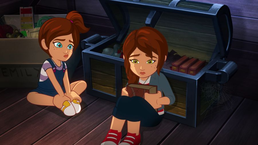 LEGO Elves. Toys in the attic