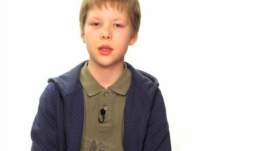 Акция «Спасибо за победу». Кирилл Мохов, 11 лет