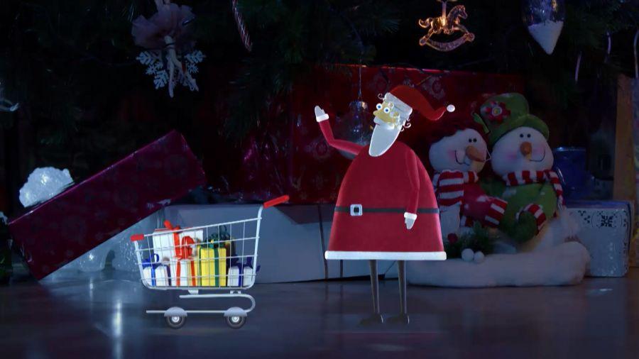 Новогоднее межпрограммное оформление 2016. Дед Мороз