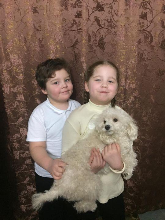 Барановы Саша и Варя Александровны