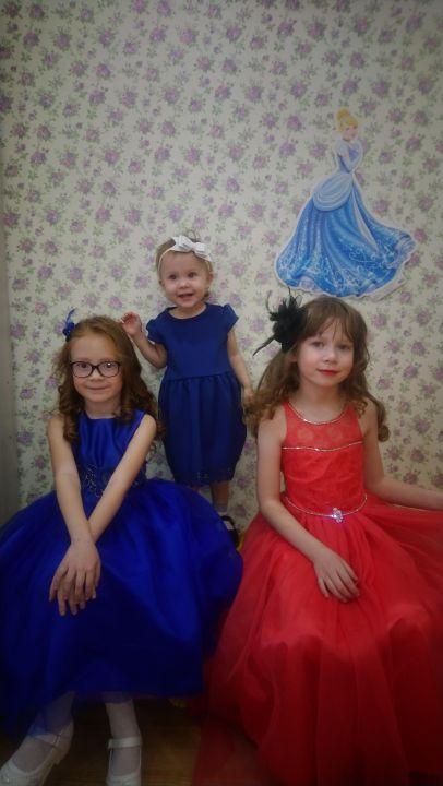 Три моих принцессы : Леночка, Лизонька, Дианочка Николаевна Кобзий