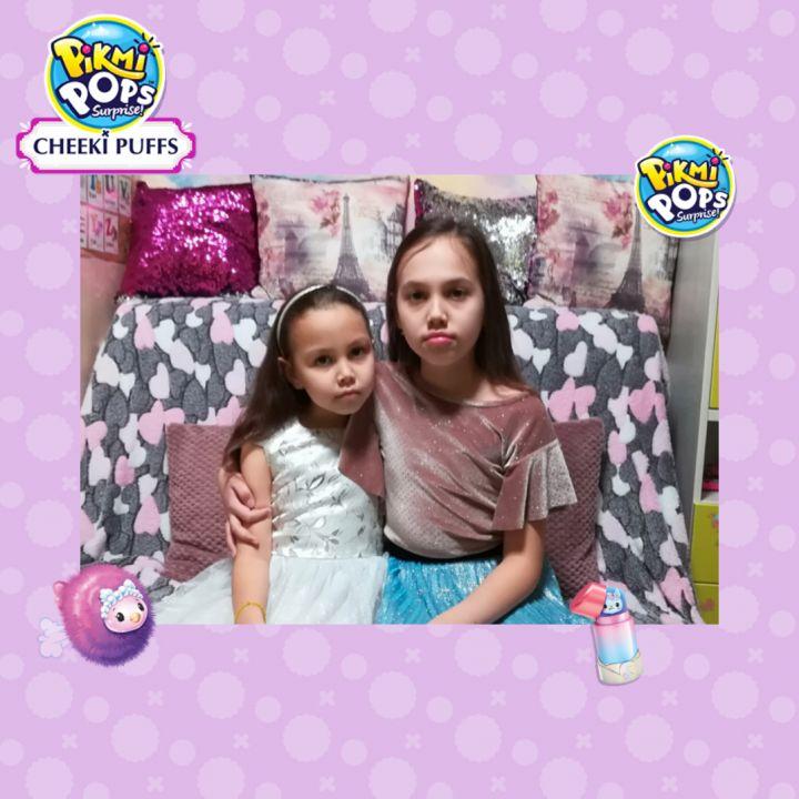 Лена и Катя Олеховы