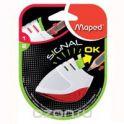 """Точилка Maped """"Signal"""", цвет: белый, красный"""